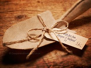 Creeper & Knotweed Trowel Gift in brown paper