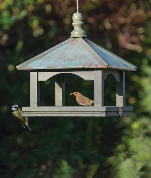 Classic Copper Bird Table National Trust Creeper And