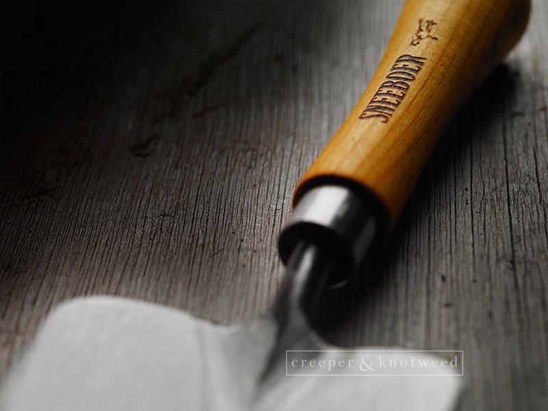 Sneeboer Trowel © creeperandknotweed.co.uk