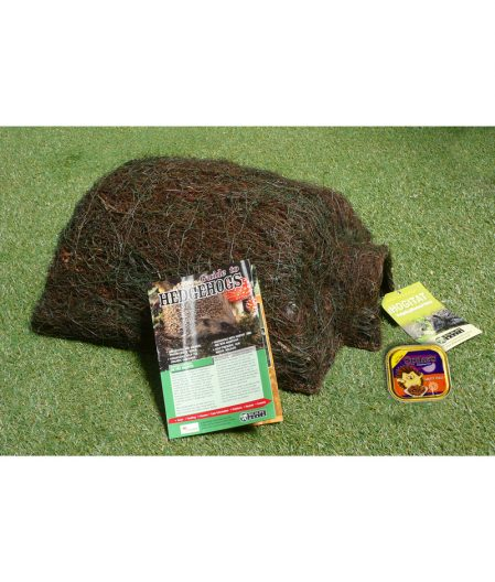 A hedgehog care pack available from Creeper & Knotweed