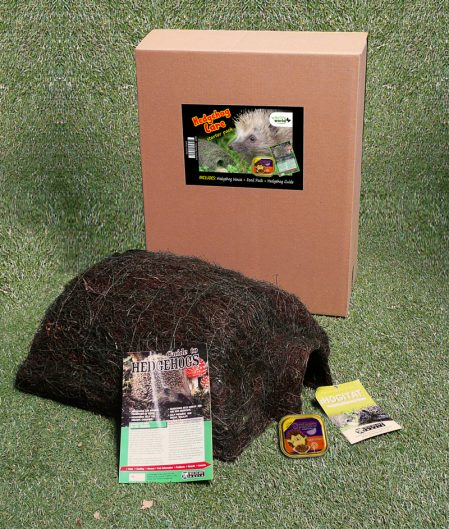 A hedgehog care pack from Creeper & Knotweed