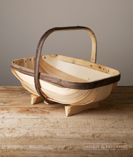 A hand made Sussex Garden Trug shown here in size No. 4
