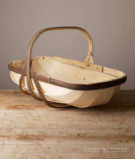A beautiful Sussex Garden Trug shown here in size No. 6