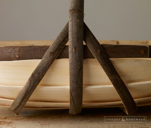Side view showing detail of Sussex Trug No. 6