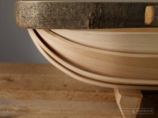 Sussex Trug No. 4. Side view - close up © Creeper & Knotweed